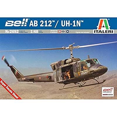 1:48 Ab 212 Uh-1n Helicopter Model Kit