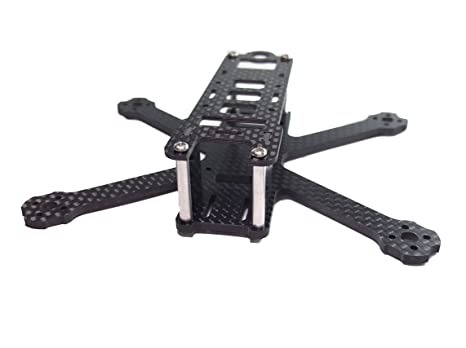 Amazon.com: usmile H125 125mm Micro Carbon Fiber Quadcopter Frame ...