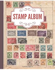 Stamp Album: Stamp Collecting Album for Stamp Collectors, Stamp Collection Catalog Journal, Organize & Catalog Stamps, Tracking and organising postage stamps(Philately Stamp Collectors Log Book)