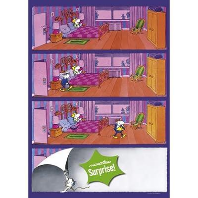 Heye 29172 Mordillo Surprise Camera Da Letto Puzzle 1000 Pezzi