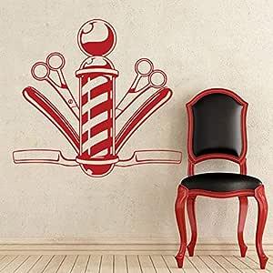 Crjzty Etiqueta de la Pared Decoración de peluquería ...