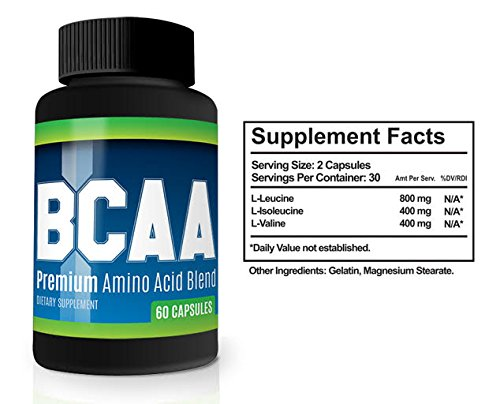 BCAA Muscle Enhancement Pills - Maximize Muscle Growth, Strength and  Recovery (3)