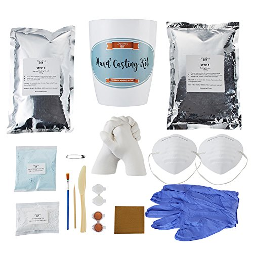 (Hand Casting Kit with Masks, Gloves, Paints & Tools Included | Most Complete Hand Molding Kit Available | Casting Kit | Hand Casting | Hand Mold | Discovering DIY)