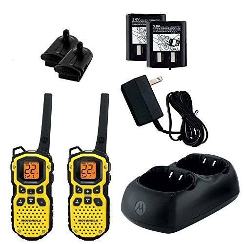 Motorola MS350R 35 Mile Talkabout Waterproof 2 Way Radio (Pair)