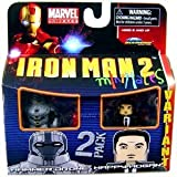Minimates: Marvel Series 35 Hammer Drone & Happy Hogan (Variant) Action Figure 2-Pack