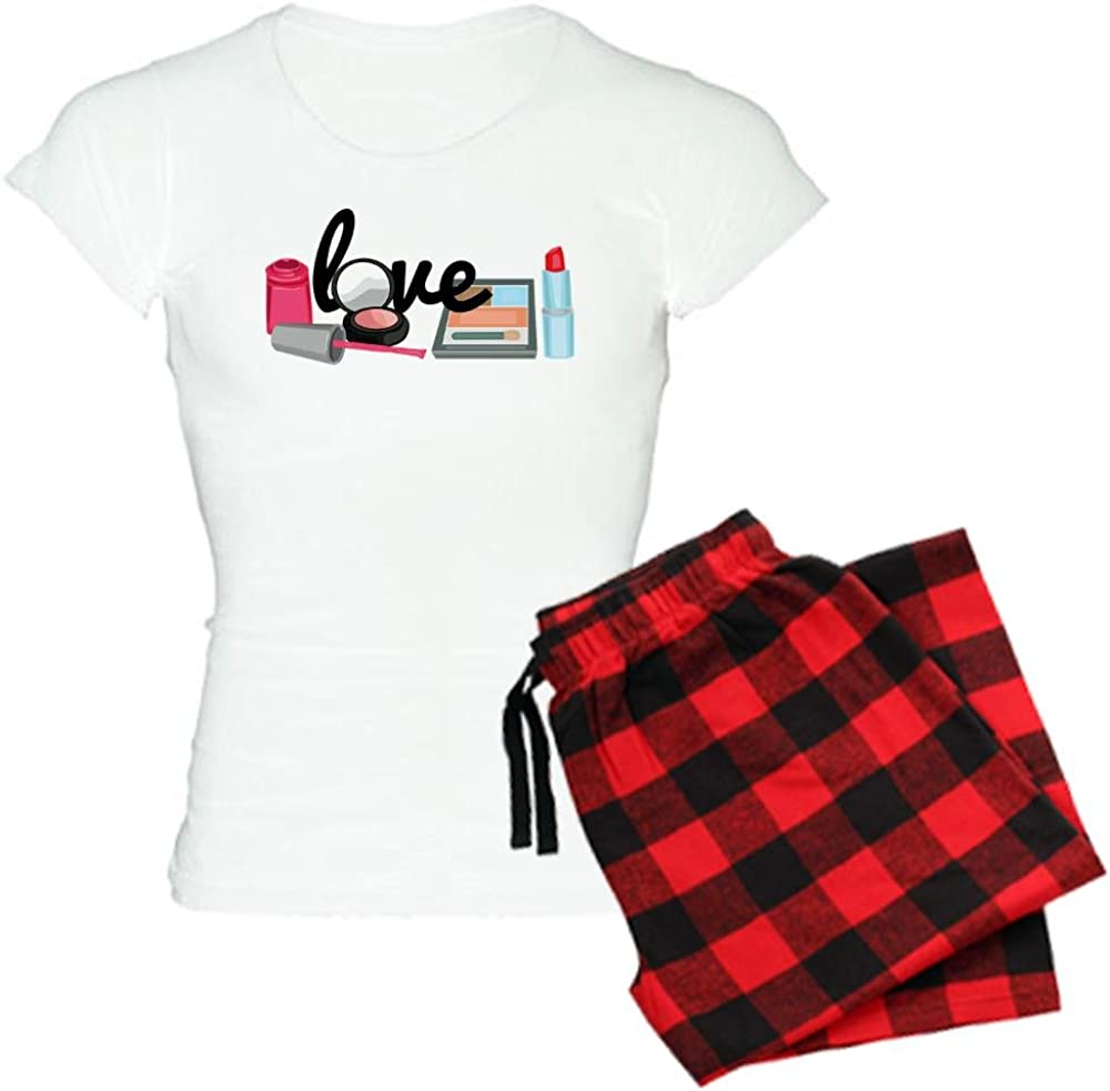 CafePress Makeup Love Women's Light Pajamas Women's PJs