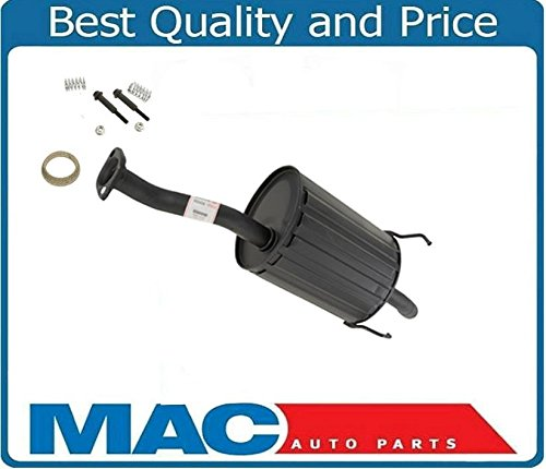 Engine Rear Muffler - Mac Auto Parts 137191 Honda Civic DX LX Rear Muffler OE Style 4425 With Bolts Gaskets