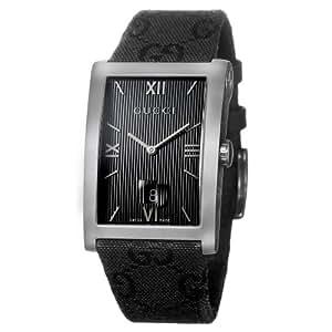 Gucci 8600M YA086316 - Reloj de mujer de cuarzo, correa de piel color negro