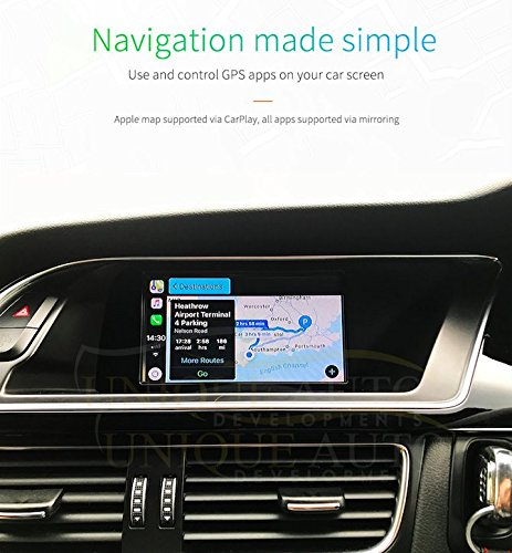 Audi Navigation Upgrade Audi CarPlay with Reversing Camera Interface