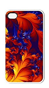 FSKcase? Abstract Red Plant hard PC case for iphone 4/4s