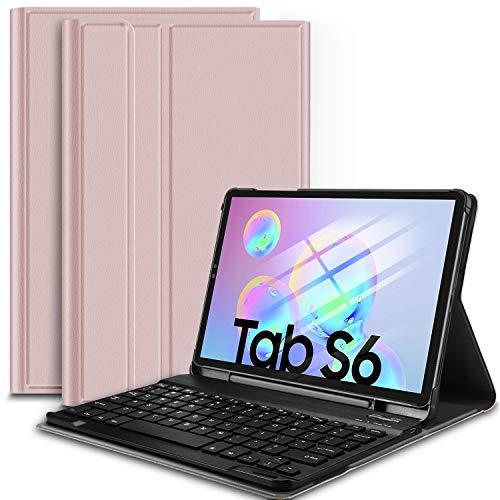 Funda con teclado para Galaxy Tab S6 10.5 SM-T860/SM-T865