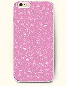 iPhone 6 Plus Case 5.5 Inches Graffiti in Pink Background - Hard Back Plastic Case OOFIT Authentic