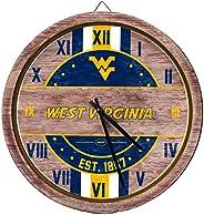 FOCO NCAA Wooden Barrel Wall Clock