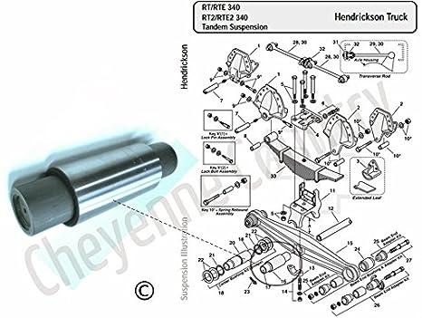 Partes para suspension hendrickson