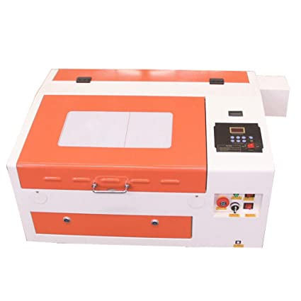 TEN-HIGH Laser Engraving Cutting Machine 300x400mm 60W CO2 Laser Engraver  with USB port