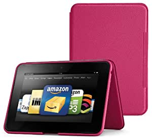 """Amazon Kindle Fire HD 8.9"""" Standing Leather Case, Fuchsia (will not fit HDX models)"""