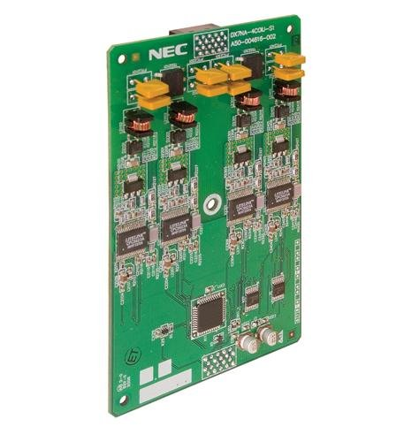 - NEC DSX Systems 1091001 CARD DSX40 4Port CO Line Card (NEC-1091001)
