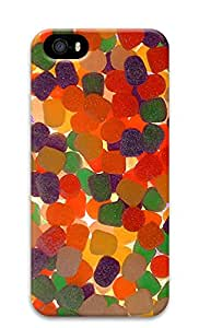 iPhone 5s Case, iPhone 5s Cases - Gum Drops PC Polycarbonate Hard Case Back Cover for iPhone 5s