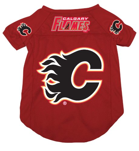 NHL Calgary Flames Pet Jersey,  Small