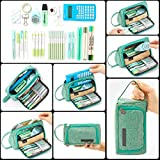 EASTHILL Large Capacity Pencil Pen Case Bag Pouch