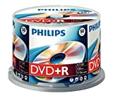 Philips DVD+R x 50 - 4.7 GB - storage media (T45314) Category: DVD Media