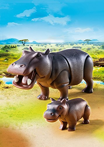 (PLAYMOBIL® Hippo with Calf)