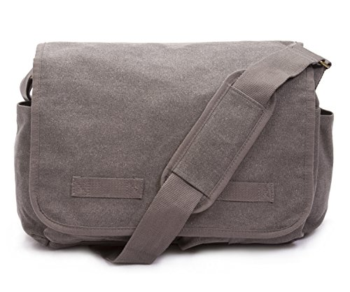 Sweetbriar Classic Messenger Bag - Vintage Canvas Shoulder Bag for All-Purpose (Classic Laptop Messenger)