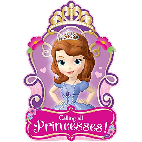Invitations | Disney Sofia The First Collection | Party Accessory]()