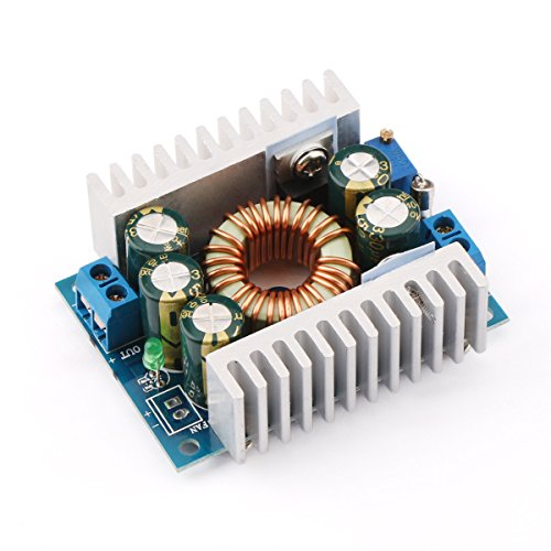 DROK 90483 DC Car Power Supply Voltage Regulator Buck Converter 8A/100W 12A Max DC 5-40V to 1.2-36V Step Down Volt Convert Module by DROK (Image #5)
