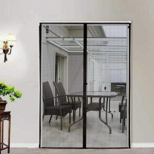 Cafolo ~ Large Hands Free Magnetic Screen Anti Mosquito Bug Door with Heavy Duty Magnets and Mesh Curtain (72x80 inches) by Cafolo (Image #6)