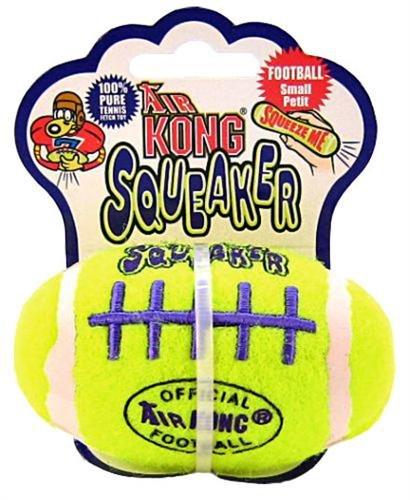 Air KONG Squeaker Football – Small, My Pet Supplies