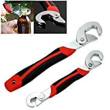 FAMI New 2PC Snap'N Grip 9-32mm Adjustable Wrench Spanner Universal Quick Multi-function
