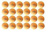 Kettler Orange 1 Star Training Table Tennis Ball 24 Pack