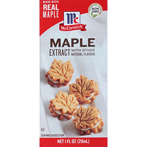 McCormick Maple Extract With Other Natural Flavors, 1 fl oz (Pack of 6)