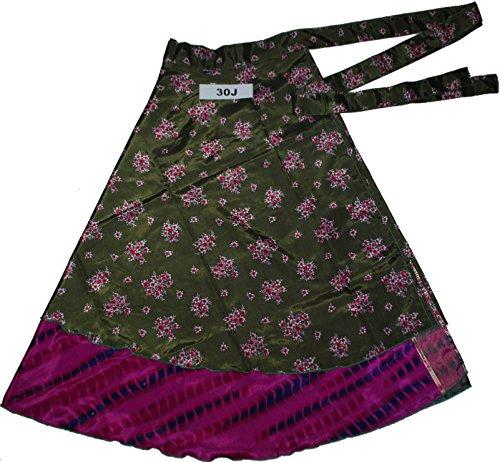 Jaipur Wraparound Two Layer Wrap Around Skirts (30J)