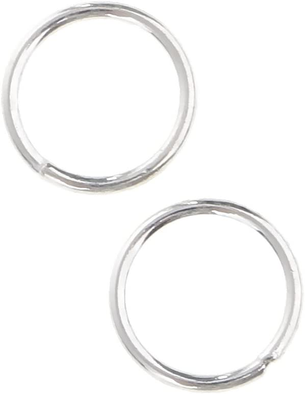 20 Piece 925 Sterling Silver Soldered Closed Jump Rings Jewelry Findings for Jewelry Making 3mm