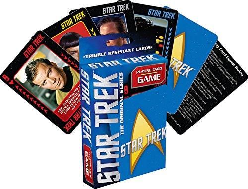 Aquarius Star Trek Playing Card Game ()