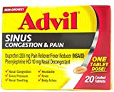 Advil Sinus Cong & Pain 2 Size 20ct Advil Sinus Congestion & Pain 20ct