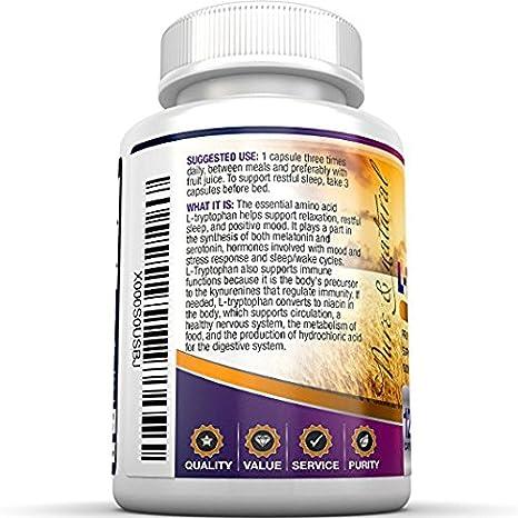 Amazon.com: Suplemento BRI Nutrition con Ltriptó ...