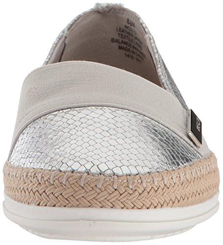 Klein Flat Anne Espadrille Reptile Klein Womens Sneaker Zilya Zilya Womens Flat Silver Anne Espadrille Sneaker nfqqw0CFxP