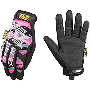 Mechanix Wear - Women's Original Pink Camo Gloves (Small, Pink Camouflage)