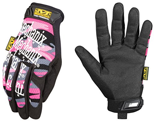 True Fit Camo (Mechanix Wear - Women's Original Pink Camo Gloves (Large, Pink Camouflage))