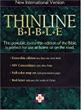 NIV Thinline Bible, Thumb Indexed, Zondervan Publishing Staff, 0310903246