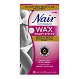 Best Nair Hair Removal Creams - Nair Wax Ready-Strips Legs and Body 40'S Review