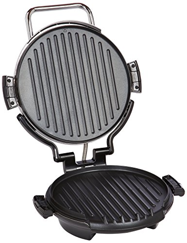 George foreman grp0720pq 360 grill with 2 removable grill plates bake pan and cookbook - Health grill with removable plates ...