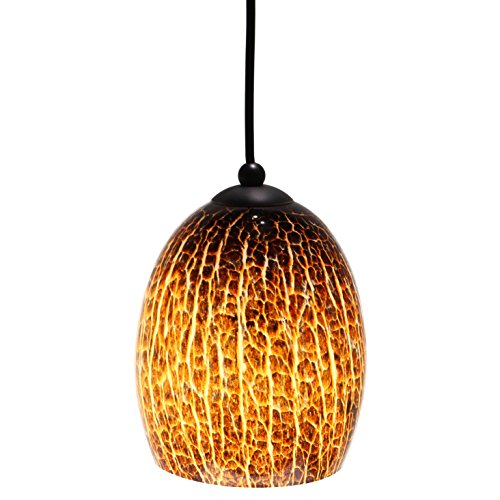 Cut Glass Pendant Light - 4