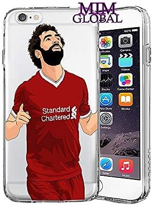 MIM Global Football Futbol Soccer Protectores Case Cover Compatible para Todos iPhone (iPhone 6/6s, Salah): Amazon.es: Electrónica