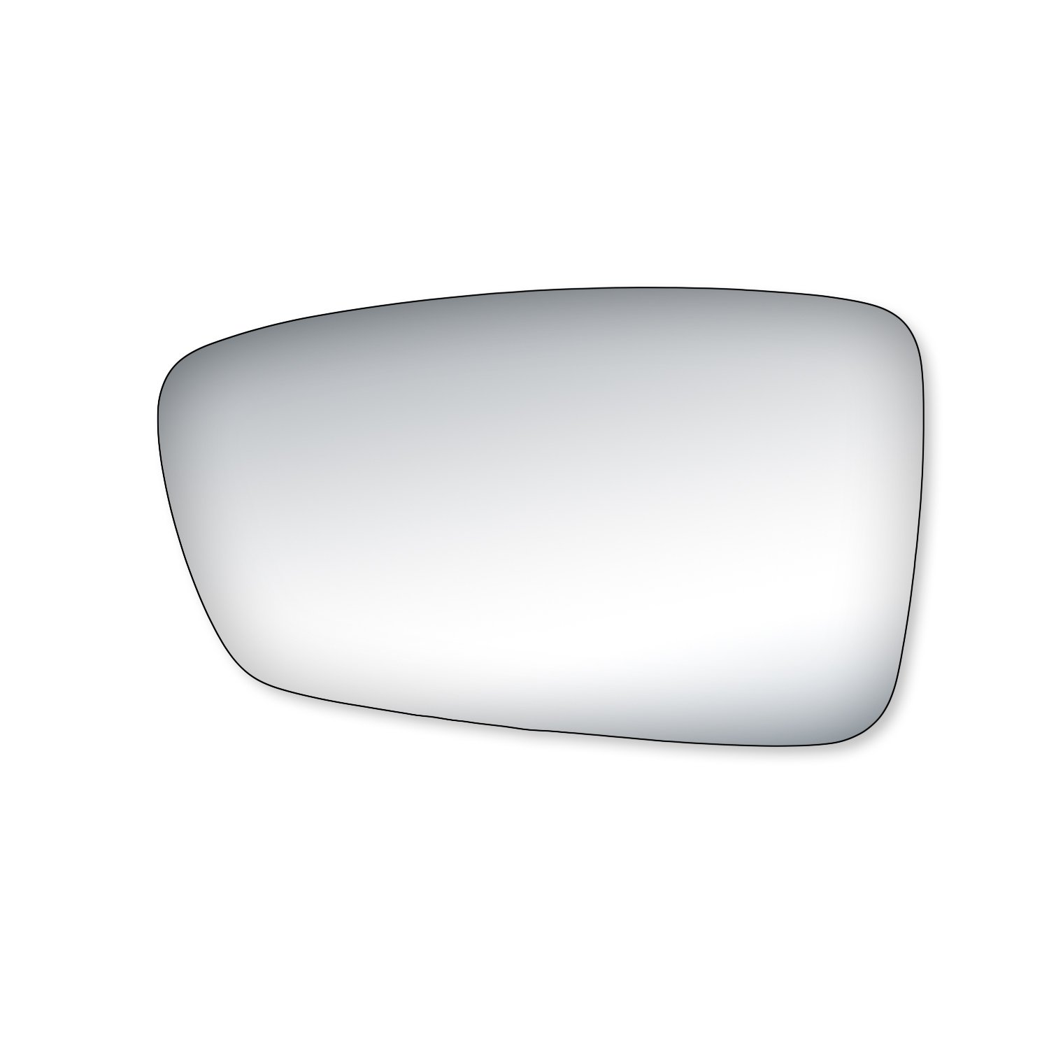 Fit System 90232 Passenger Side Replacement Glass K Source