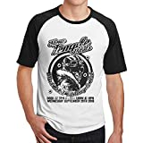 Stone Temple Pilots Vasoline Men Short Sleeve Raglan Tee Shirts