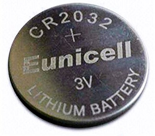 Eunicell Batterien CR2032 fü r Autoschlü ssel mit Fernbedienung, fü r Autoalarmanlagen AG0